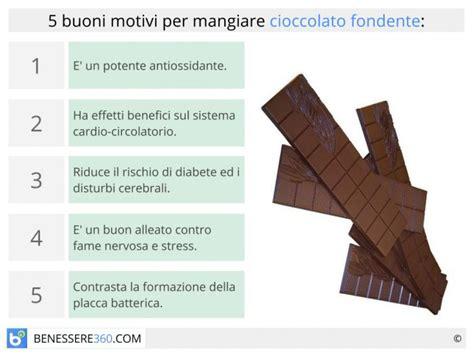 alimento fa dimagrire cioccolato fondente propriet 224 benefici e calorie fa
