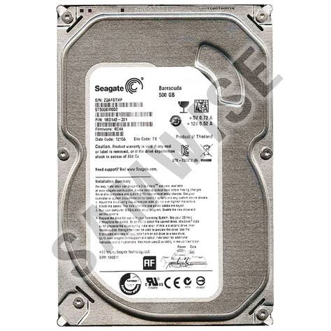 Hardisk Seagate 500gb Second disk 500gb seagate st500dm002 sata3 7200rpm