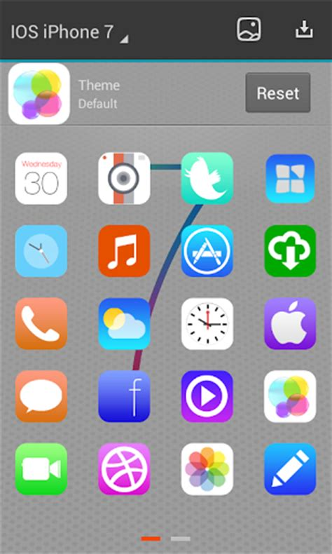 ios launcher apk ios 7 next launcher theme 3d 1 3 apk free android apps apk
