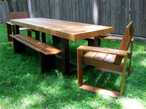 Handmade Patio Table - furniture atlanta contemporary outdoor patio