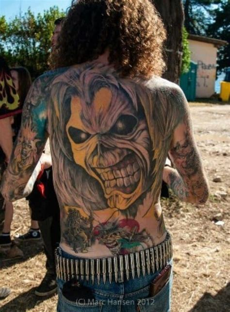 19 killer eddie tattoos for iron maiden fans tattoodo