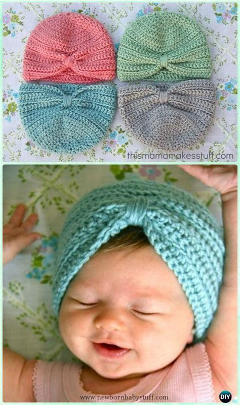 knitted turban pattern free baby knitting patterns crochet baby turban hat free