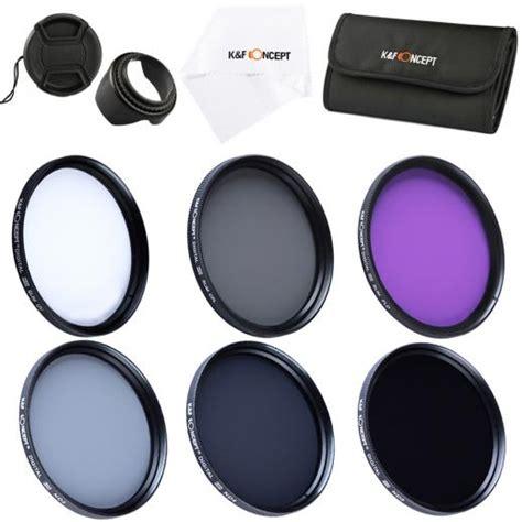 Elf133 Filter Uv Cpl Fld Nd2 Nd4 Nd8 Lens Cap 52mm For N k f concept 58mm filter set uv cpl fld nd2 nd4 nd8