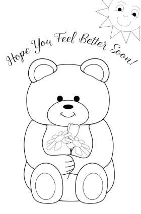 get well soon colouring card template printable get well cards for to color lovetoknow