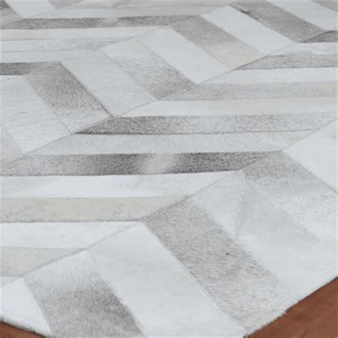 pattern grey rug exquisite rugs natural hide modern classic chevron pattern