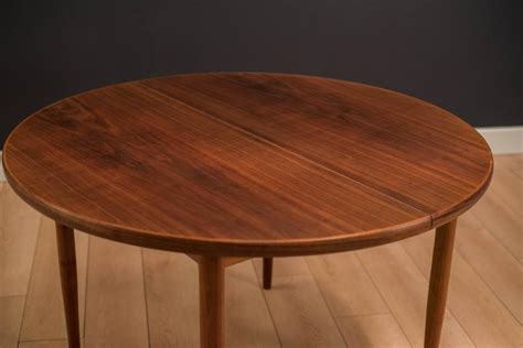 Dux Dining Table Mid Century Walnut Dux Dining Table At 1stdibs