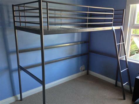 Svarta Loft Bed by Ikea Svarta Loft Bunk Bed Frame 163 55 Ono In Chingford
