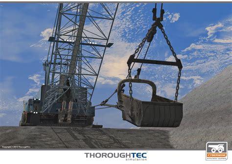Dragline Operator by Cybermine Dragline Simulators Thoroughtec Simulation