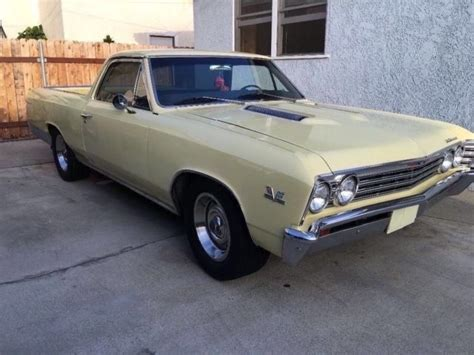 1967 el camino ss 1967 chevrolet el camino ss 396 for sale photos