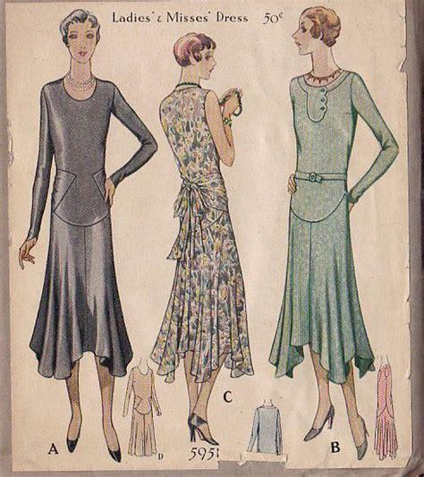 dress pattern 2 yards bonne chance 1920 s patterns i dream of clothes