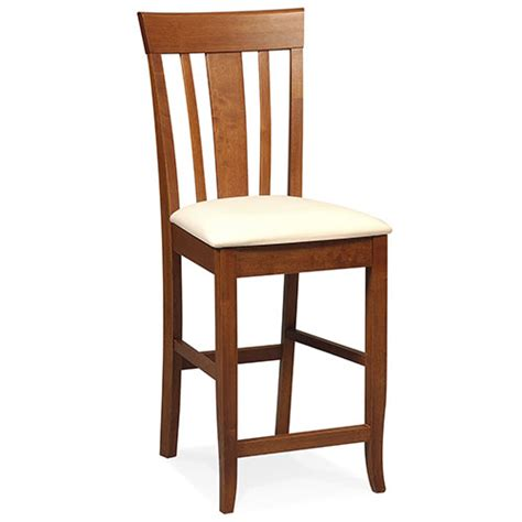 bar stools with backs walmart 24 quot slat back counter stool furniture walmart