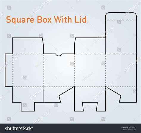 rectangle box with lid template rectangle box with lid template www imgkid the