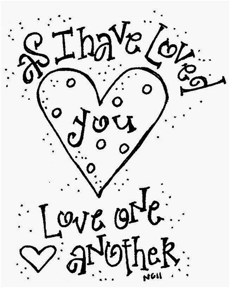 One Another Coloring Page Love One Another Coloring Pages Coloring Home by One Another Coloring Page
