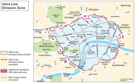 tfl new years day ulez plans confirmed for 2020 air quality news