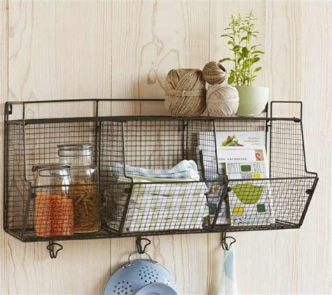 storage ideas and creative living ideas wire shelves for