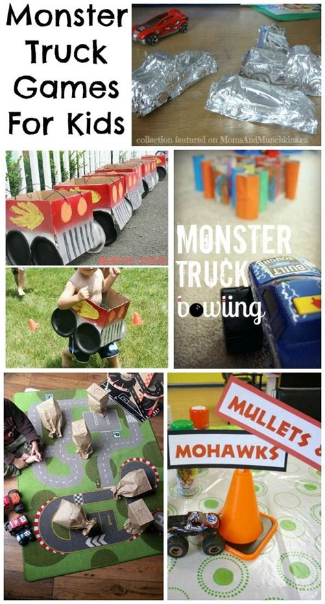 monster truck video games for kids monster truck games for kids mom for kids and party