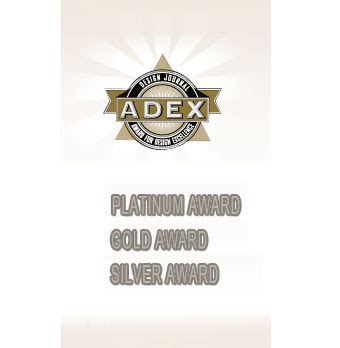 design journal adex awards pdt honored by design journal with three adex awards pdt
