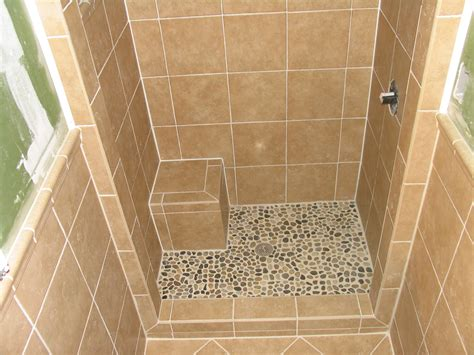 Small Bathroom With Standup Shower Stand Up Shower Tile Tile Work Pinterest Small Showers Tile Showers And Bath
