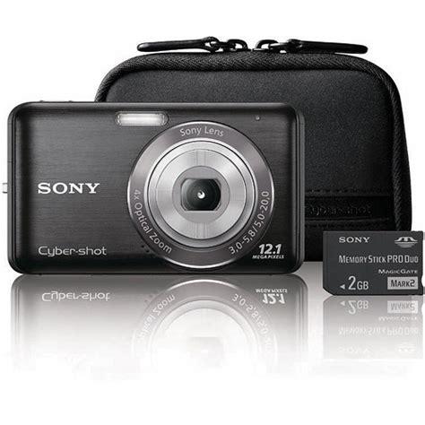 Kamera Digital Sony Cybershot W310 12 1 Mp sony dsc w310 s day bundle dscw310bdl b b h