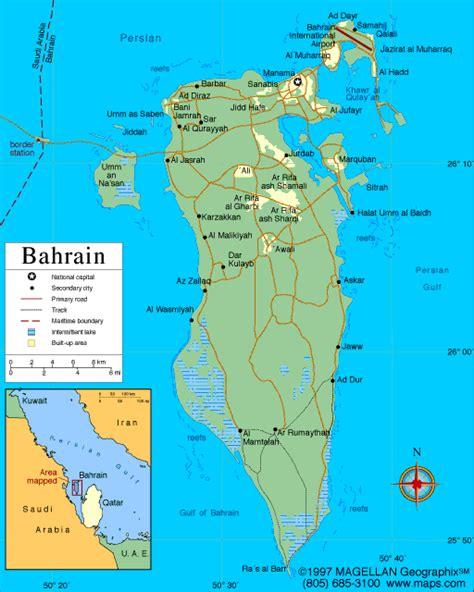 bahrain on the world map atlas bahrain