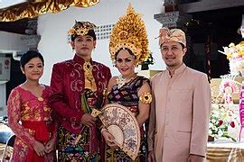 Gamis Bridail Mix Songket national costume of indonesia
