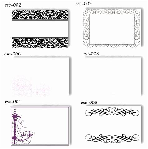 free card template excel 9 table place cards template word rawoz templatesz234