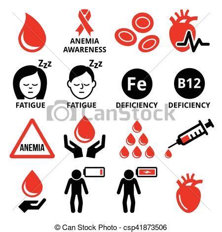 clip art de vectores de conjunto salud icono vector anemia conjunto iconos salud humano sangre conjunto