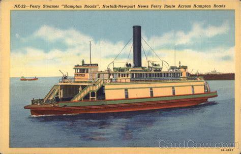 ferry boat norfolk ferry steamer quot hton roads quot norfolk newport news ferry