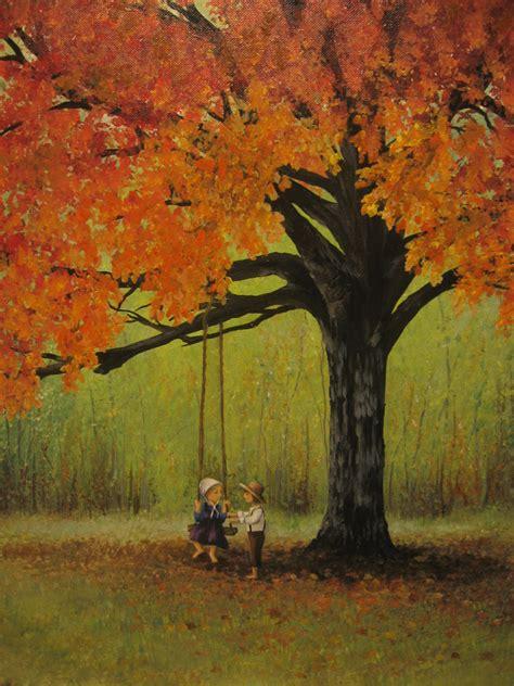 tree swing painting pin by lauren dechellis fox on swing time pinterest