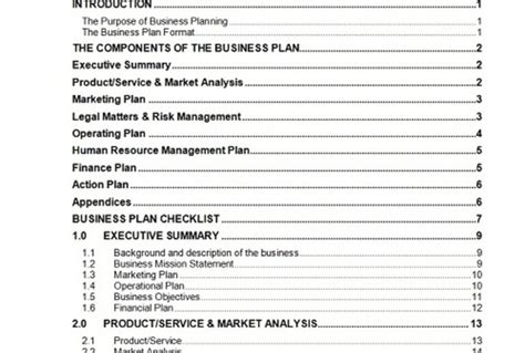 send you a 63 page business plan template with cash flow