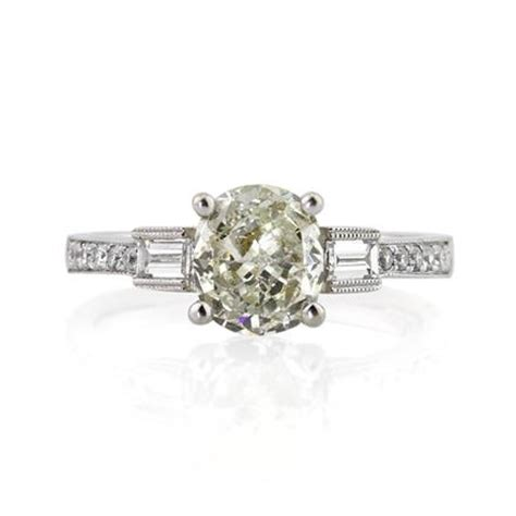 cushion cut unique cushion cut engagement