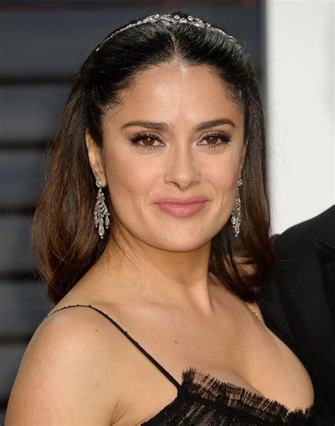 Photos Of Salma Hayek by Salma Hayek At Vanity Fair Oscar 2017 In Los Angeles