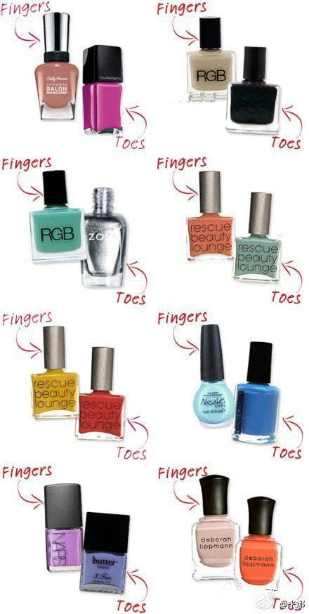 nail color combinations best 25 nail color combinations ideas on nail