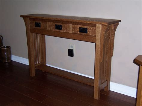 custom sofa table custom made sofa table by bungalow white oak furniture