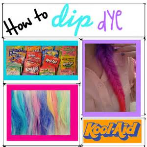 can you dye your hair with food coloring how to dip dye your hair with kool aid polyvore
