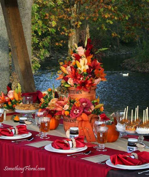 fall themed table decorations 125 best images about fall wedding on pumpkin