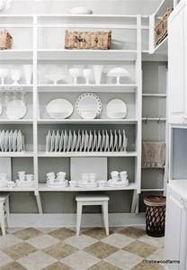 Vintage Glass Storage Containers - butler s pantry