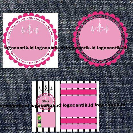 jual logo olshop murah desain logowatermark label nota