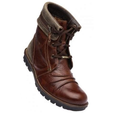 buy woodland mens brown leather boot