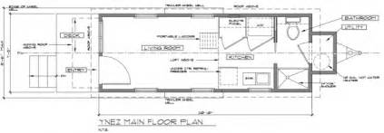 Tiny Homes On Wheels Floor Plans Ynez Tiny House On Wheels By Oregon Cottage Company