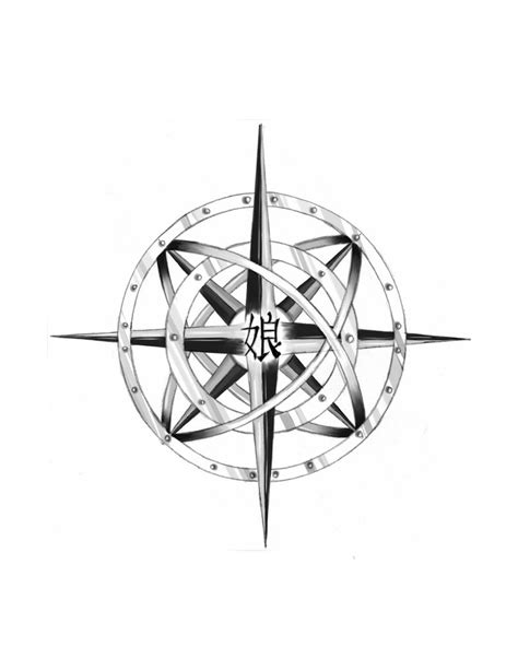 compass rose tattoo design photo 3 2017 real photo