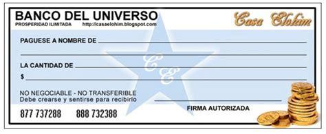 Imagenes De Cheques En Blanco Para Imprimir | cheque de la abundancia para imprimir
