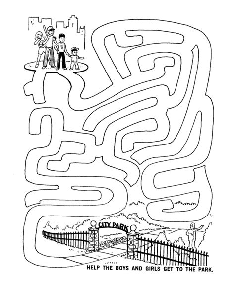 printable kids activities activity pages to print maze sheets are a fun and