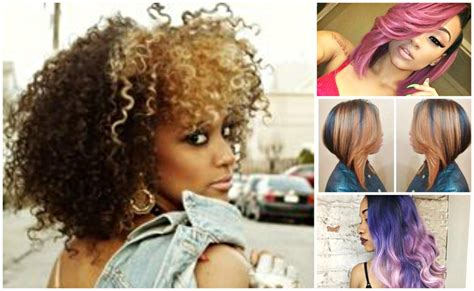 2017 hair trends for black women top 2017 hair color trends for black women the style