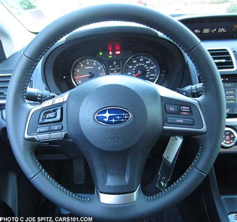 subaru impreza steering wheel 2015 impreza interior photos and images
