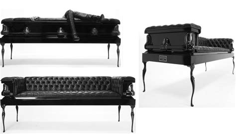 coffin couches coffin sofa chairs i want pinterest sofas