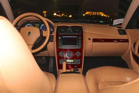 2005 maserati quattroporte interior 2005 maserati quattroporte interior pictures cargurus