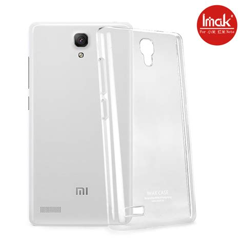 Xiaomi Redmi Note Imak 2 Ultra Thin imak 2 ultra thin for xiaomi redmi note transparent jakartanotebook