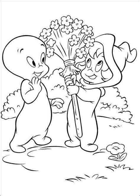 coloring pages of casper the friendly ghost kids n fun com coloring page casper the friendly ghost