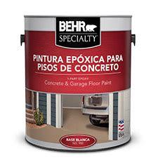 BEHR SPECIALTY? Pintura Epóxica para Pisos de Concreto  Behr